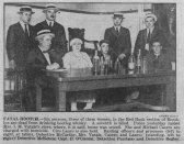 1922 Sep Mrs Vatale Photo With Detectives & Codefs - Daily News
