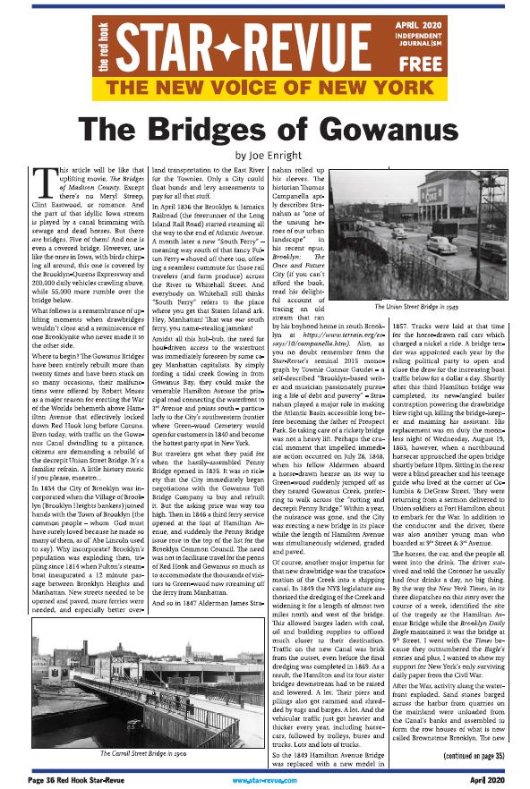 The Bridges of Gowanus